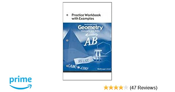 Amazon geometry concepts and skills practice workbook with amazon geometry concepts and skills practice workbook with examples 9780618140480 mcdougal littel books fandeluxe Image collections