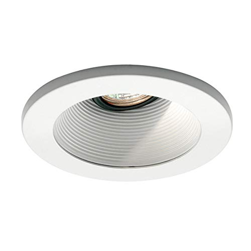 WAC Lighting HR-D411-WT/WT Recessed Low Voltage Trim Basic Baffle