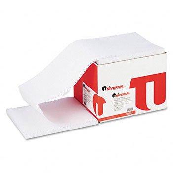 Universal® Printout Paper FORM,P/OUT,1PT,LTR,23C 71402 (Pack of3) by UNVSL