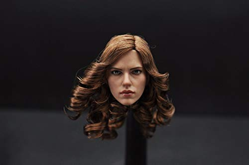 SOUFORCE 1/6 Scale Beauty Head Sculpt, Beautiful Head Curving Model for 12