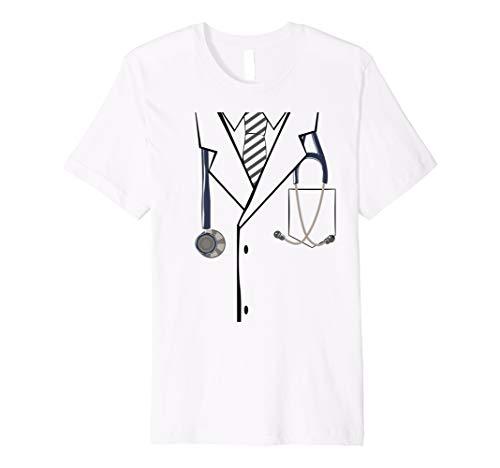 Easy & Lazy Halloween Costume Idea - Doctor Lab Coat Premium ()
