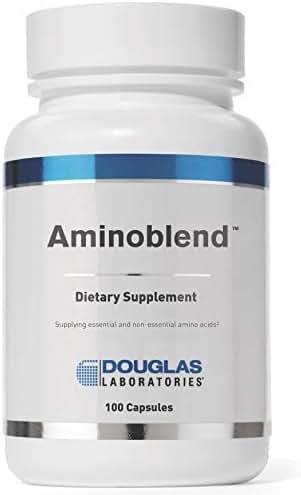 Douglas Laboratories - Aminoblend - Nutritionally Balanced Mixture of Amino Acids - 100 Capsules