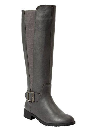 Comfortview Womens Milan Wide Boot Boot Grigio