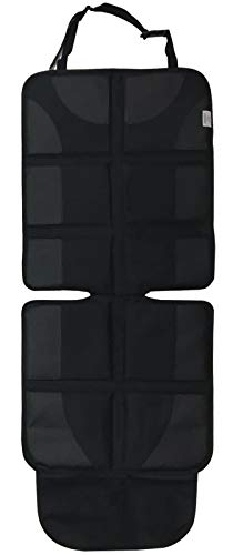 (LUXENNO Car Seat Protector Cover for Kids & Adults. Largest Coverage & Thickest Padding Cushion with Organizer Pockets. Waterproof Easy Clean Oxford Fabric Breathes, Comfortable. Protects Car)