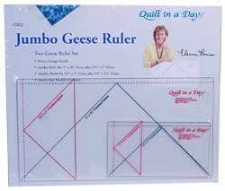 (Quilt In A Day 2-Piece Jumbo Flying Geese Rulers by Quilt In A Day)
