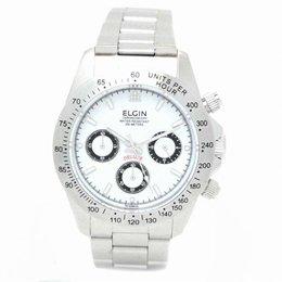 雑貨ホビーインテリア 雑貨 腕時計 ELGIN エルジン ダイバークロノウォッチ FK1059S-W -ak [簡易パッケージ品] B07D1CF9C8