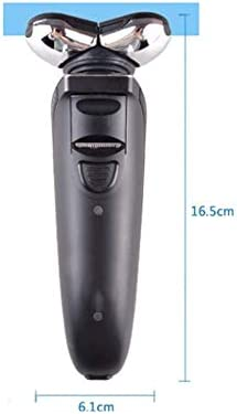 Maquinilla de afeitar eléctrica recargable de afeitadora eléctrica ...