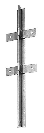 aus T-Profil feuerverzinkt 40 x 40 // 1200 mm GAH-Alberts 212438 Zaunpfosten