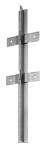 Gah Alberts 212438 Zaunpfosten Aus T Profil Feuerverzinkt 40 X 40