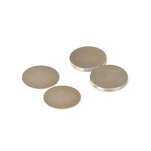 0,48kg force dadh/érence Magnet Expert/® 20mm diam/ètre x 0,5mm N42 n/éodyme aimant pack de 10