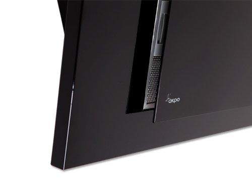 Akpo - Campana extractora wk-4 nero line negro / 50cm / 320m3/h - campana extractora de cocina: Amazon.es: e-bsd