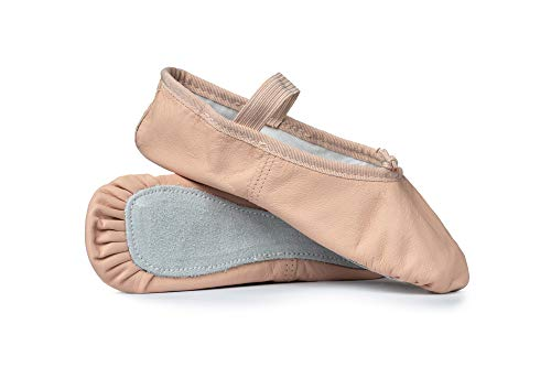 Child Economy Leather Full Sole Ballet Shoes T1000CPNK11.0M Pink 11 M US Little Kid