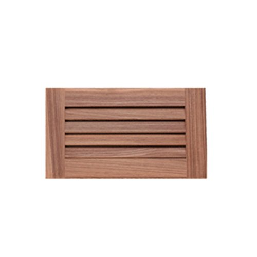 Whitecap Teak Louvered Insert - 6-3/8 x 11-3/16 x 3/4 Marine RV Boating Accessories