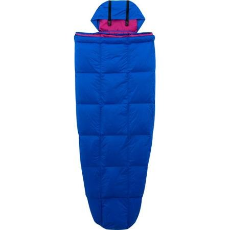 Ozark Trail 10-Degree Adult Down Packable Sleeping Bag, Blue/Purple by Ozark Trail