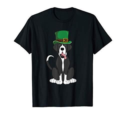 - Mantle Great Dane St. Patricks Day T-Shirt Kids Women Dog