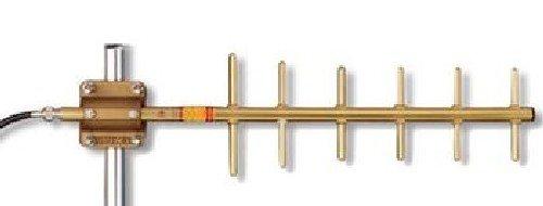 Yagi Uhf (Yagi Base Antenna UHF 450-470 MHz 6 Elements 10.2 dBd Gain, with mount, N-Female connector)