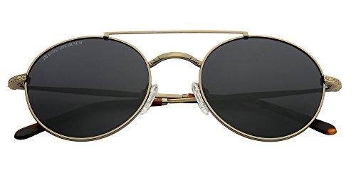 Alta Life Ovaladas denmark y Gold polarizadas Vintage Gafas in Handmade montura de lentes Fast calidad 17qYdxdwEP
