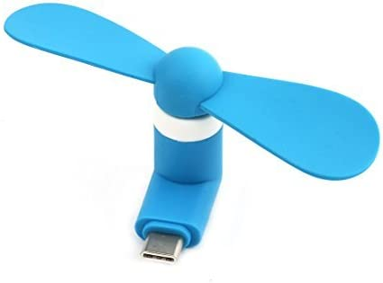 DealMux USB Silencio 5 Pines portátil refrigerador de Dos Hojas de ...