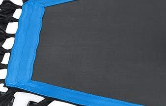 Sportplus Silent Fitness Mini Trampoline - Replacement Mat (Blue)