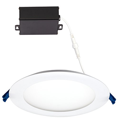 GetInLight Slim Dimmable 6 Inch LED Recessed Lighting, Ro...