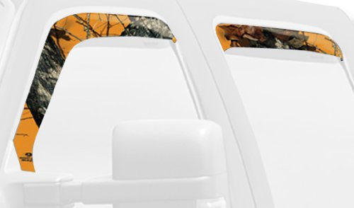 Mossy Oak Graphics 10008-WV-BZ Blaze Camouflage Window Visor Accent Kit