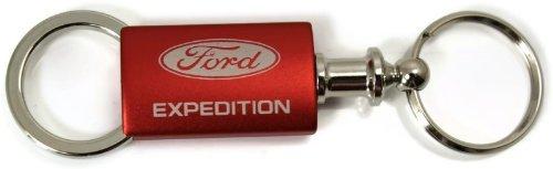 Ford Expedition Red Valet Key Fob Authentic Logo Key Chain Key Ring Keytag Lanyard DanteGTS