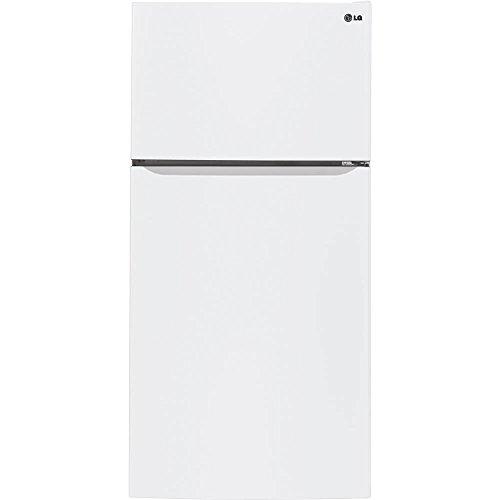 LG LTCS24223W 23.8 Cu. Ft. White Top Freezer Refrigerator - Energy Star by LG