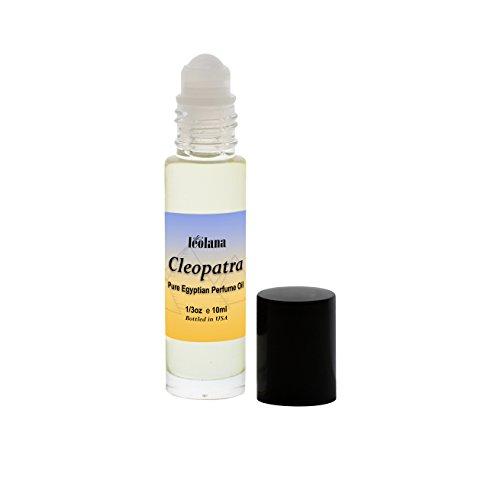 Leolana Cleopatra Pure Perfume Oil - 1/3oz Roll On Bottle