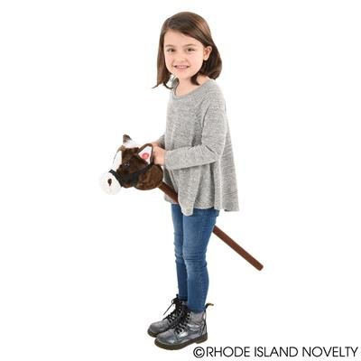30'' HORSE ON A STICK PLUSH, Case of 24