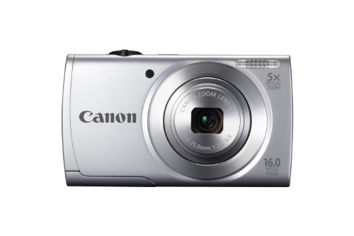 PowerShot A2500 16.0 MP Digital Camera with 5x Optical Zoom and 720p HD Video Recording (Silver), Best Gadgets