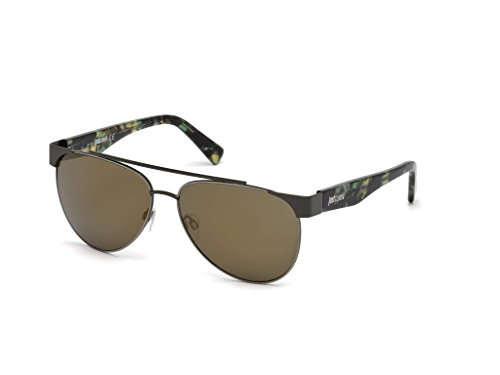 Lunettes de soleil Just Cavalli JC758S C59 16G (shiny palladium / brown mirror)