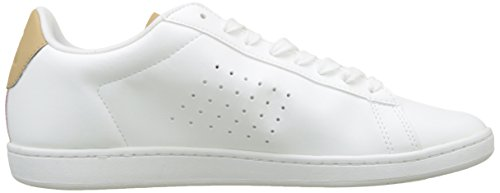 Sportif Blanc optical Blanco croissant croissant Zapatillas Para Courtset Optical Hombre Coq Le Sport White White TS65qw