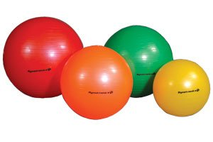Dynatronics Burst Resistant Exercise Ball Green 65Cm