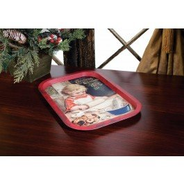 Adorable Vintage Style Child Cookie Tin Tray (Christmas Cookie Tins Wholesale)