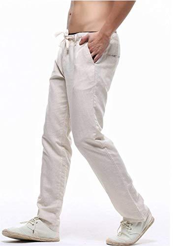 Per Coulisse Bobo Khaki Con Lunghi LinoMisto Lino 88 Pantaloni In BCQxrodeWE