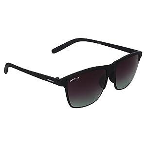 Creature Matt Finish Club master Uv Protected Sunglasses(Doit-006| 53| Frame-Black)
