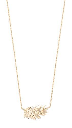 Gorjana Women's Palm Adjustable Necklace, Yellow Gold, One Size by Gorjana