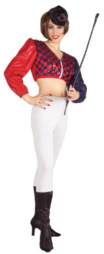 Female Jockey Adult Costume - Adult Std.