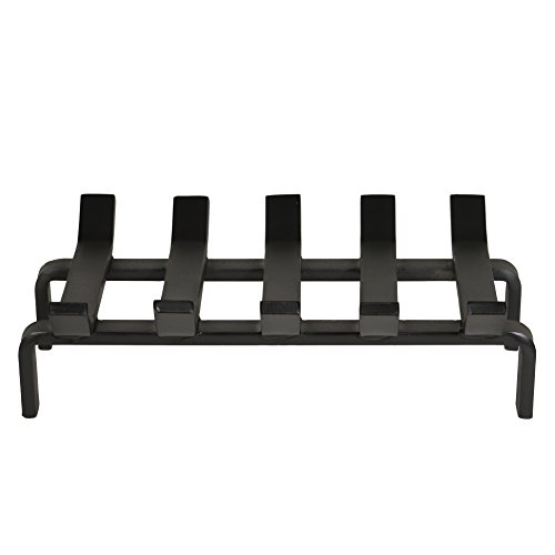 Heritage Products Heavy Duty 13 x 10 Inch Steel Grate for Wood Stove & Fireplace - Made in The USA by Heritage Products (Image #1)