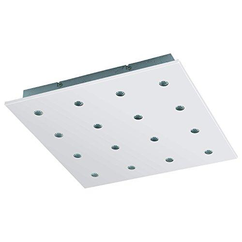 Eglo 94563 Plafonnier, Différents matériaux, Integriert, Argent