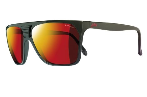 Cortina Blocks - Julbo Cortina Vintage Sunglasses, Shiny Black, Spectron 3+ Mlayer Lens