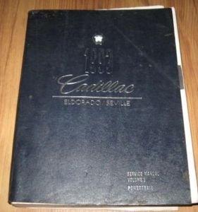1993 Cadillac Eldorado/Seville Service Information, Volume 1, Powertrain
