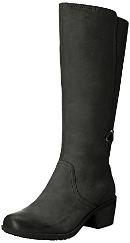 Teva Women's W Foxy Tall Waterproof Boot, Black, 6 M US