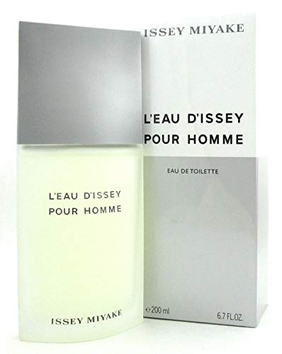 Iŝsêy Miyâķe L'eau D'issey Pour Homme EDT Spray for Men 6.7 FL. OZ./200 ()