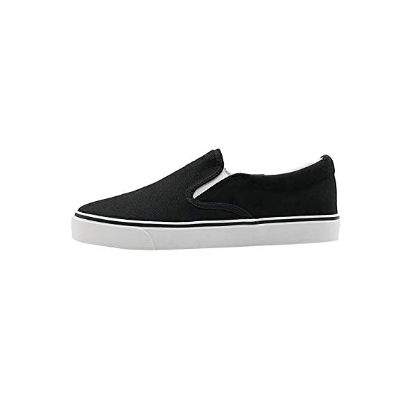 SHCRTK Women's Canvas Slip On Shoes Loafer Casual Fashion Sneaker