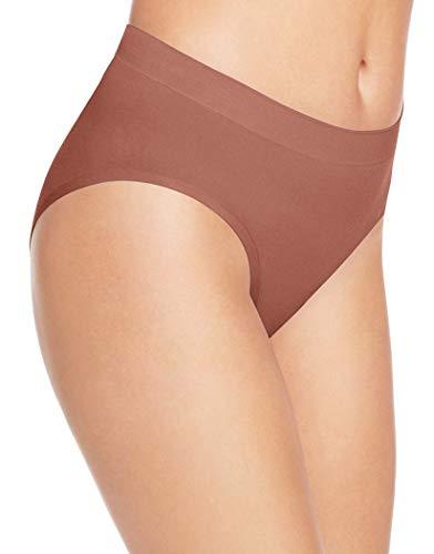 - Wacoal Women's Skinsense Hi Cut Brief Panty, Cognac, M