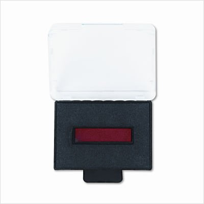 U. S. Stamp & Sign Trodat T5430 Stamp Replacement Ink Pad, 1 Inch Width x 1.625 Inches Depth, Red/Blue - Ink Replacement Pad Blue Trodat