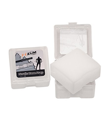 (ZUMWax Nordic Wax - Base Prep/Clean/Travel/Store - 40 gram - Excellent Storage & Travel Wax for Cross-Country Skis by ZUMWax)