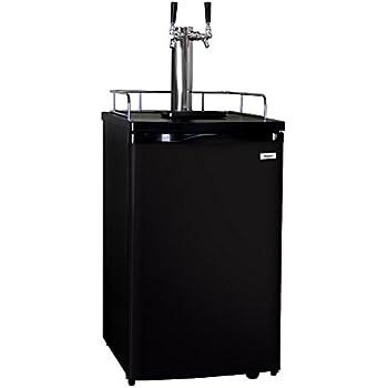 kegco full size homebrew kegerator dual faucet. Black Bedroom Furniture Sets. Home Design Ideas