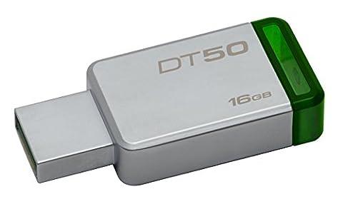 Kingston Digital 16GB USB 3.0 Data Traveler 50, 30MB/s Read, 5MB/s Write (DT50/16GB)